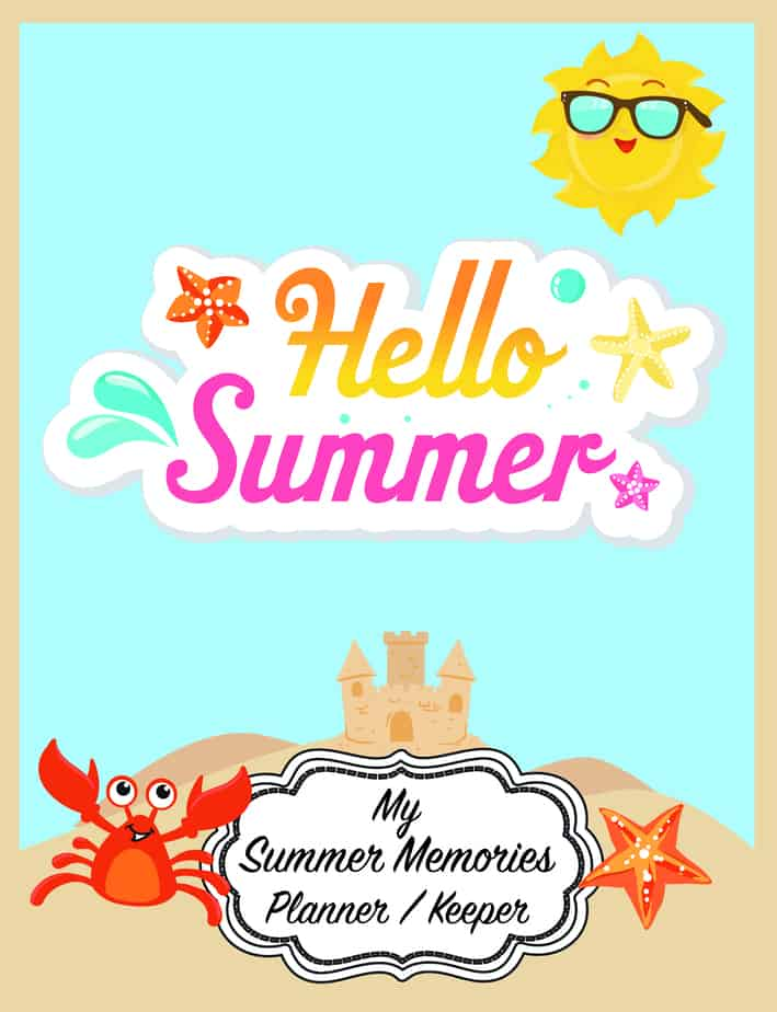 Summer Memories journal