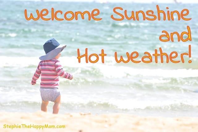Plau in the sun without sunburn