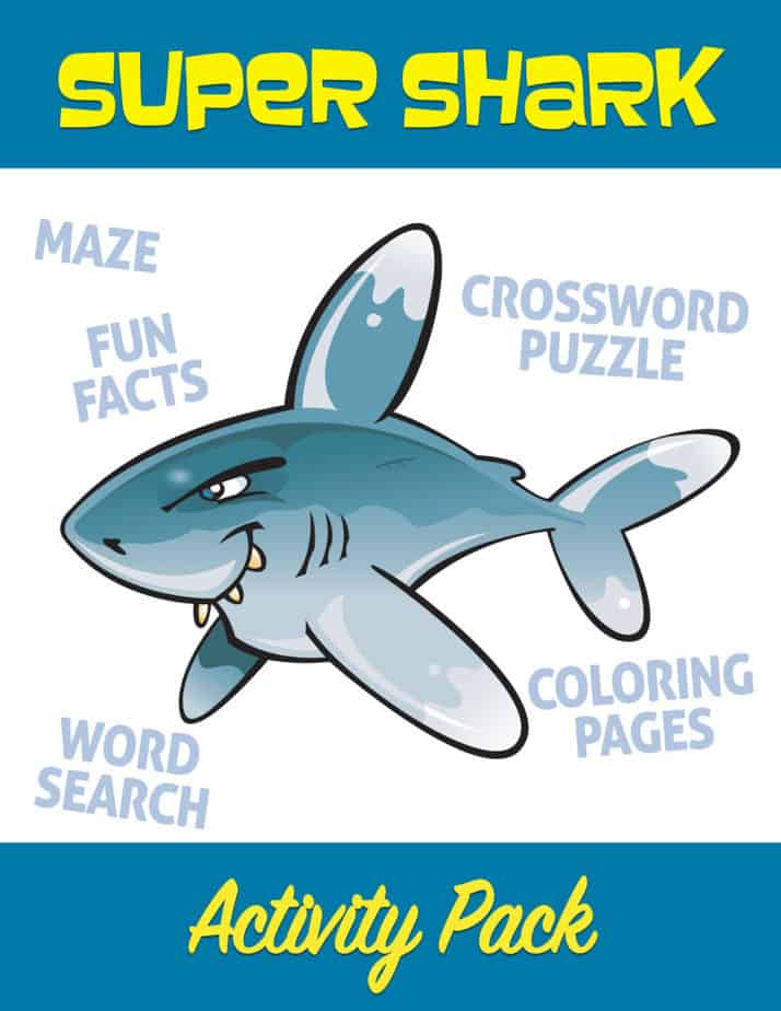 Super Shark Activity Pack