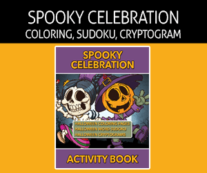 Spooky Celebration Activity Book