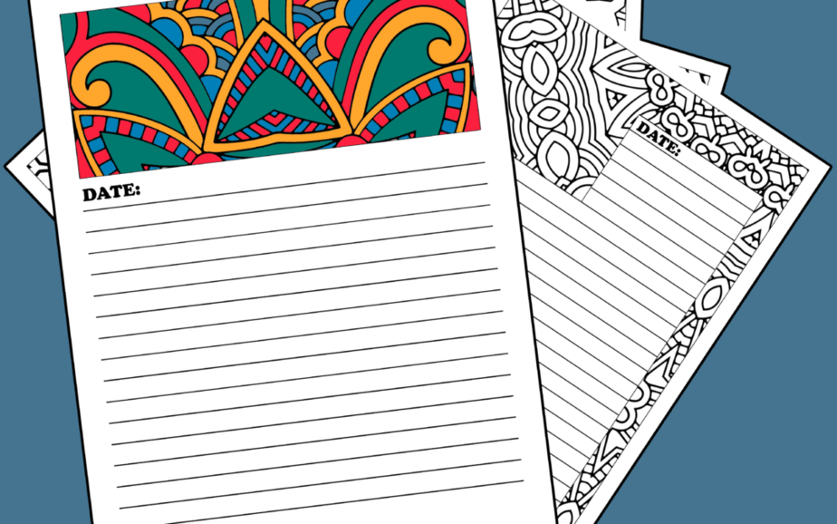 Color & Write Journal