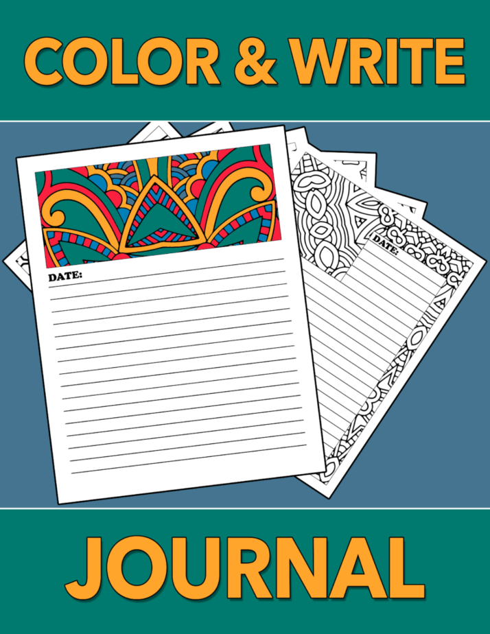Start journaling today with Color & Write Journal
