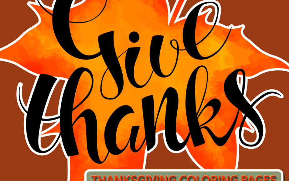 Give Thanks Activity Book
