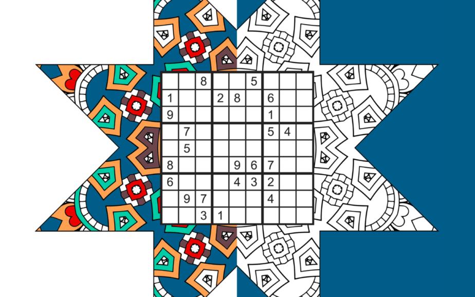 Sudoku Stars Activity book