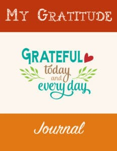One of a kind gratitude journal
