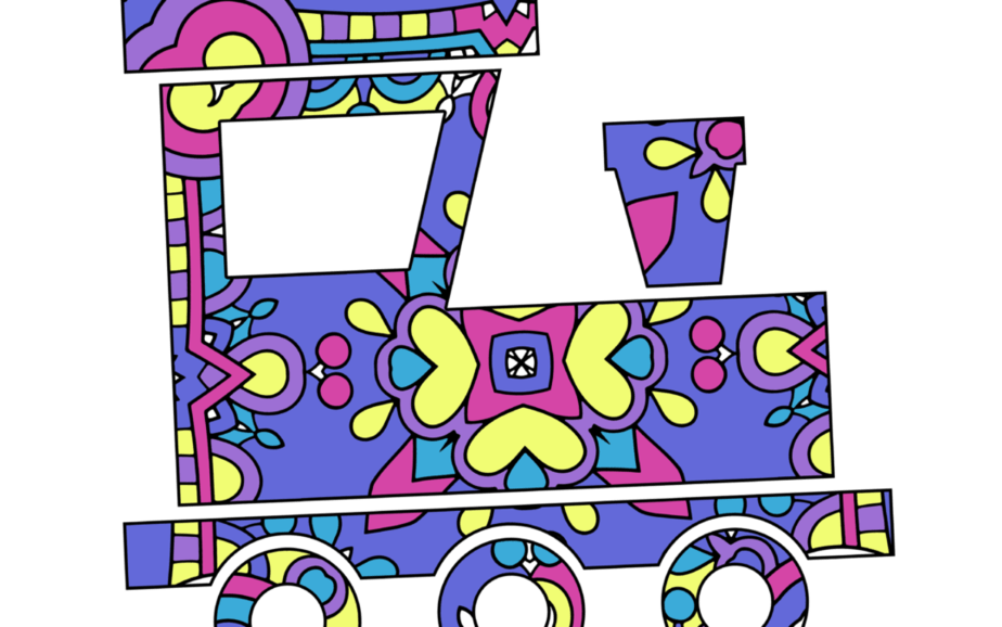 Toy Box Coloring Book