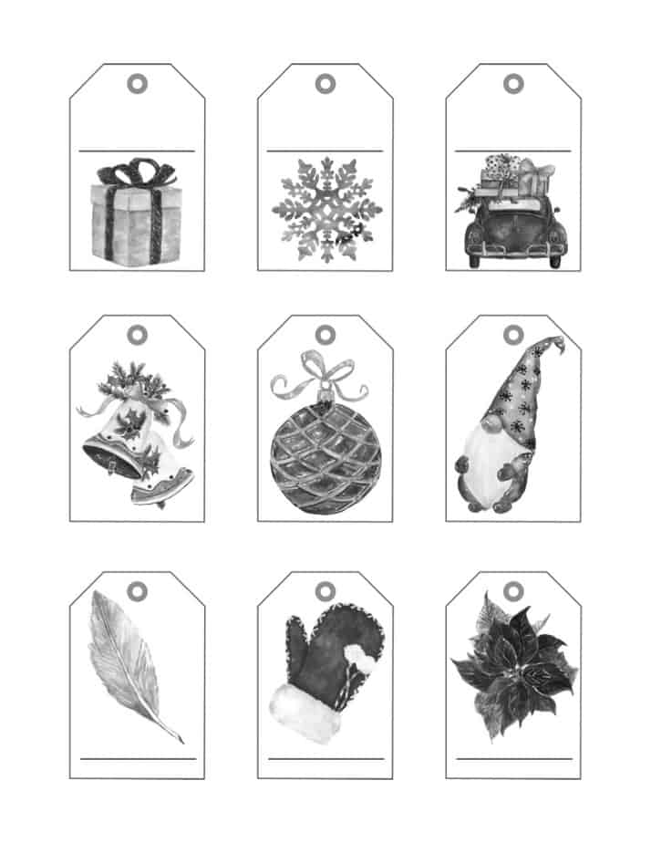 you also get 9 tags with Christmas Bundle