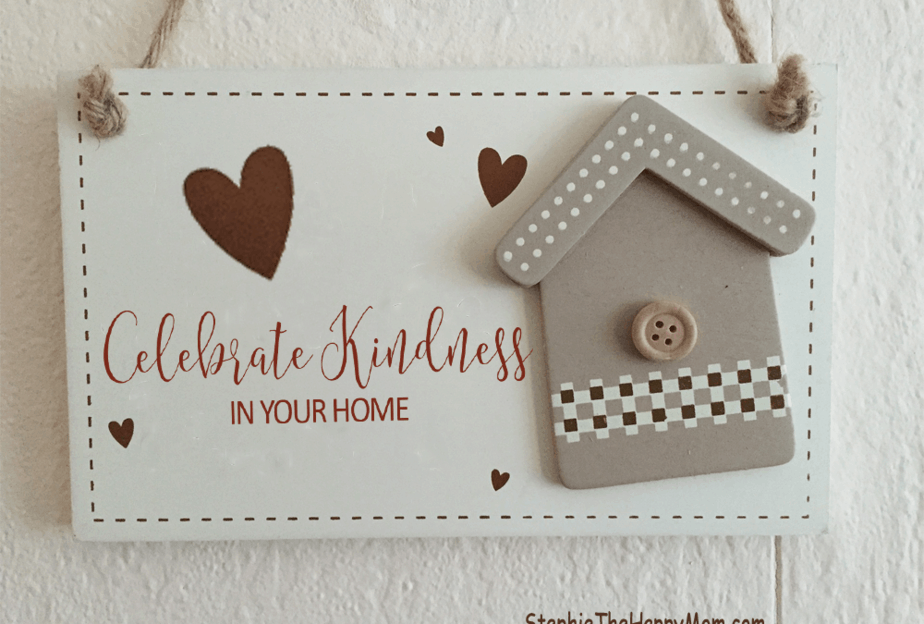 Celebrate Kindness at Home