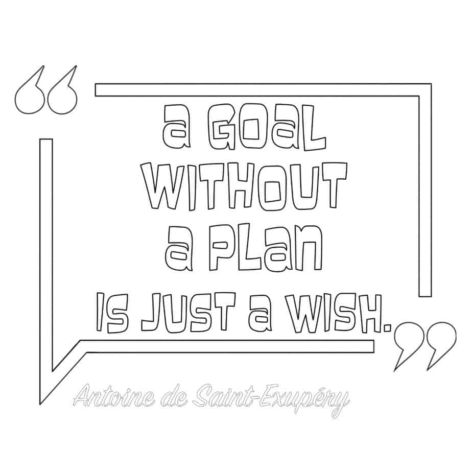 One Planning Quote Example