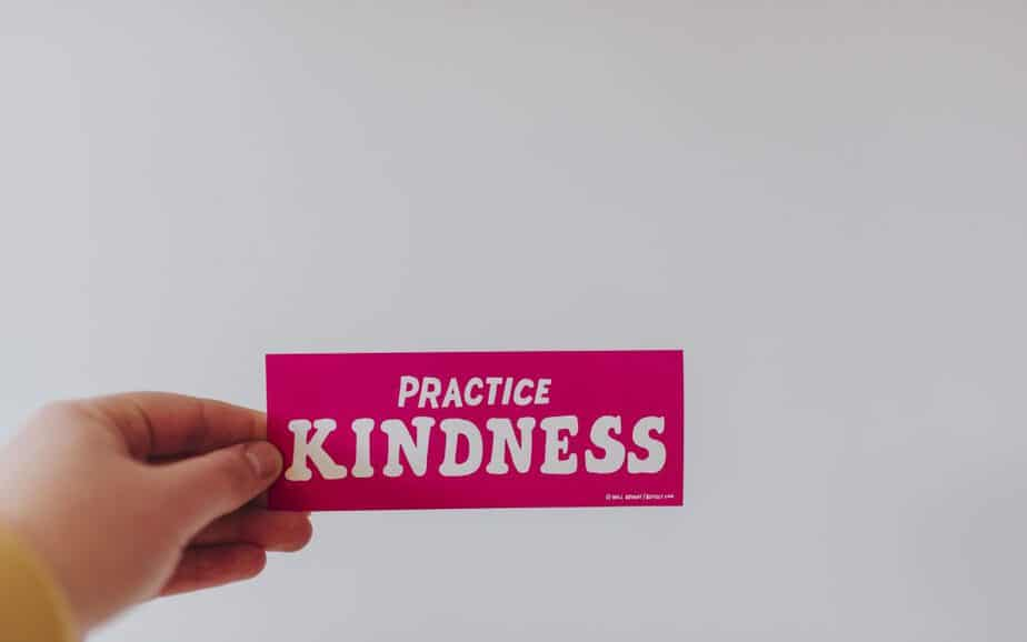 Practice a Random Act Of Kindness