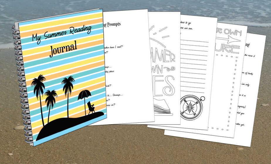 Summer Journal Display