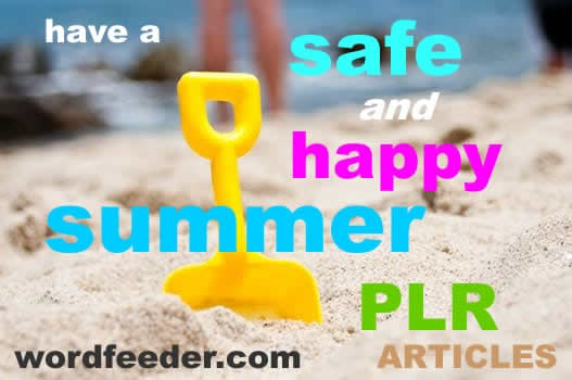 Summer PLR articles
