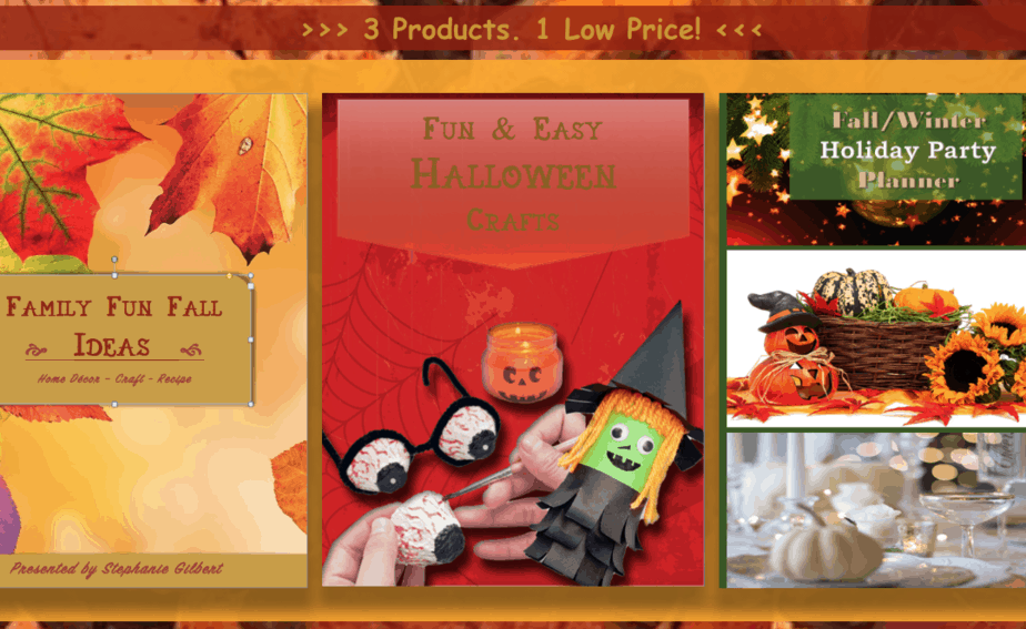 Family Fun Fall Bundle
