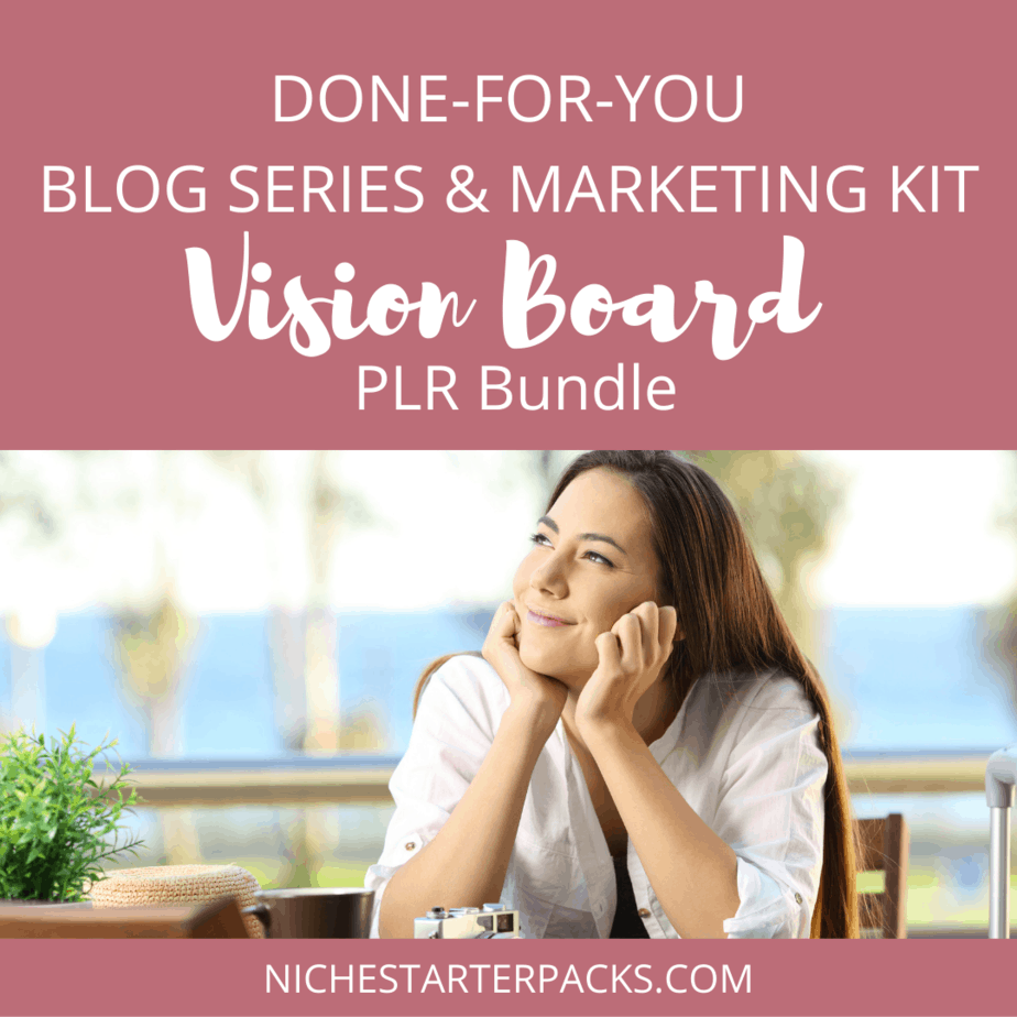 Vision Board PLR Bundle