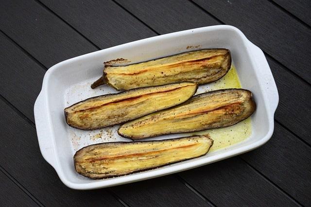 Roast Eggplant Salad