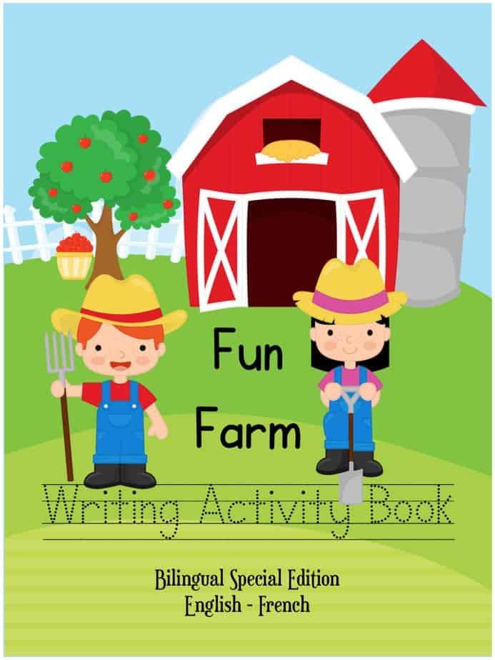 Fun Farm Writing Book