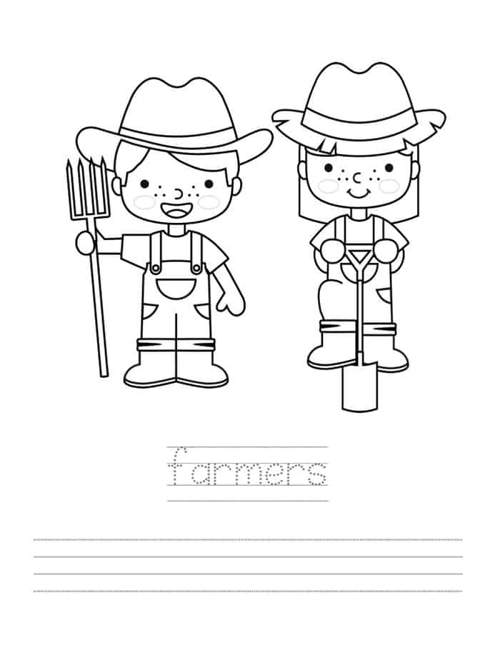 Color and Write Activity