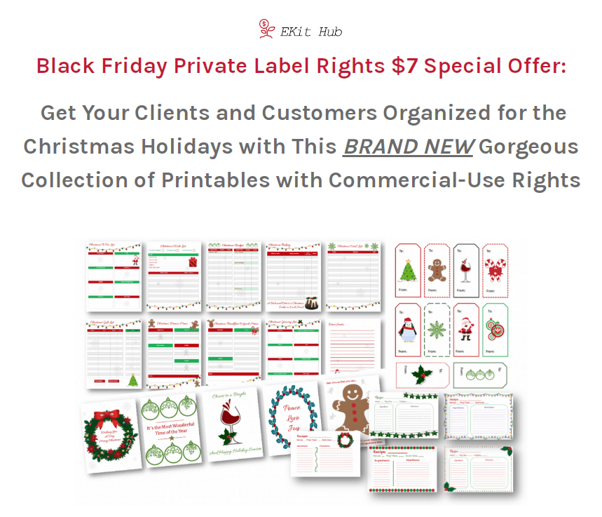 Must Have Christmas Printables